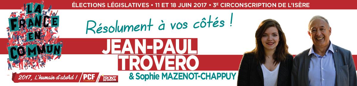 Législatives 2017 3ème Circonscription Isère