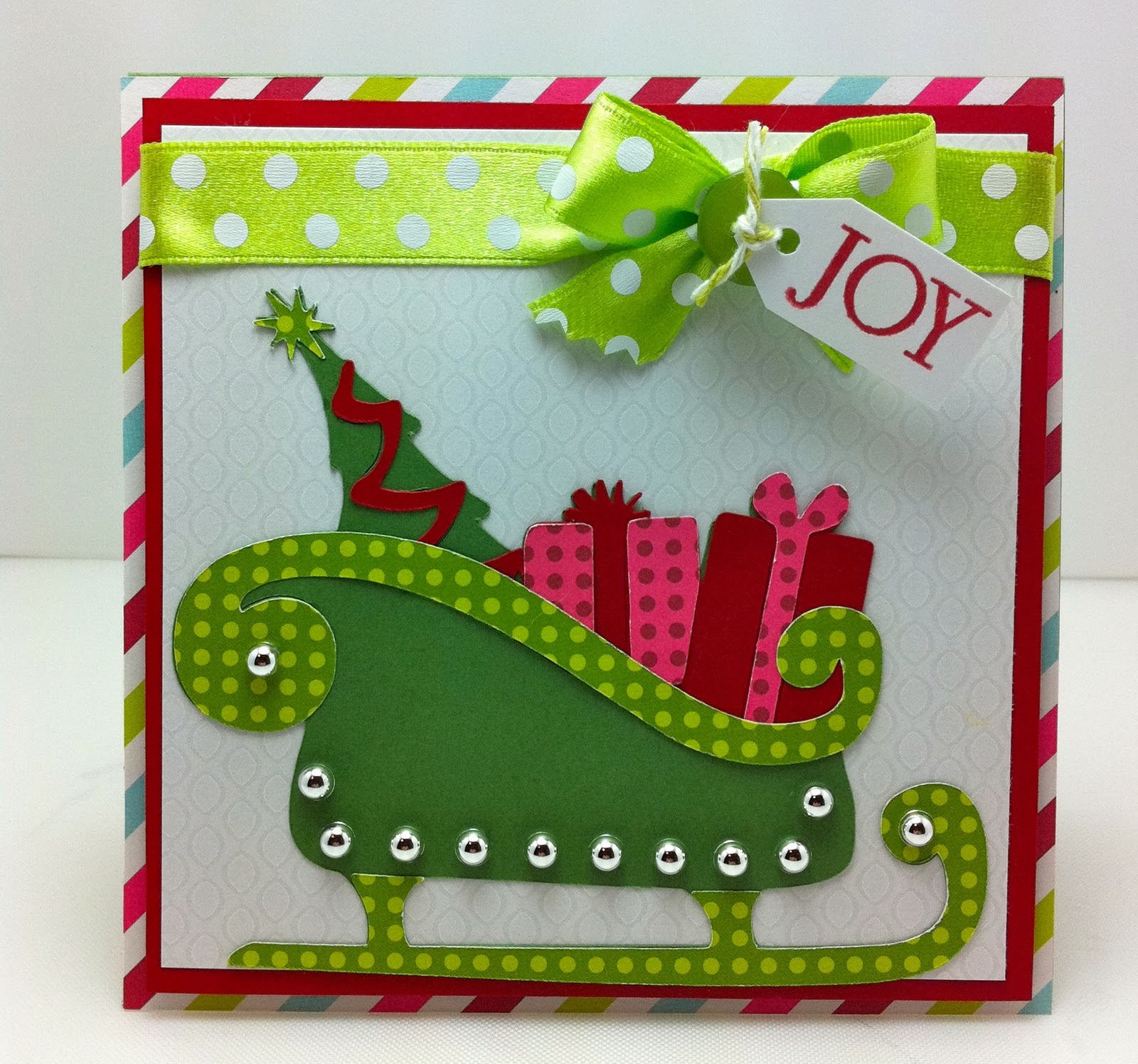 Obsessed With Scrapbooking Tis The Season Joy Ornament