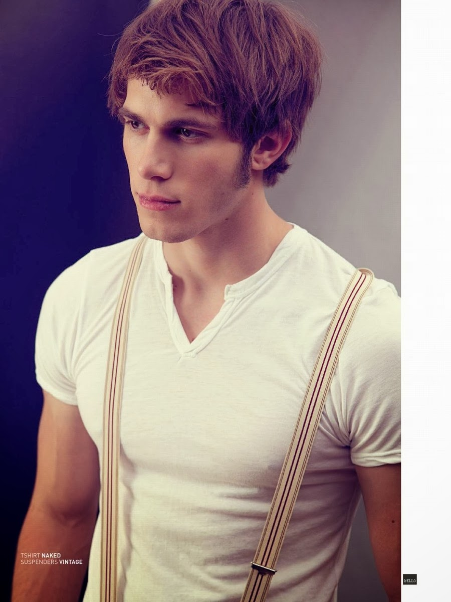 "Blake Jenner para BELLO Magazine Octubre 2013 ""Obsession Issue"""
