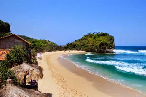 Liburan Objek Pariwisata di Jogja Wajib Dikunjungi, Pantai Indrayanti Gunung Kidul