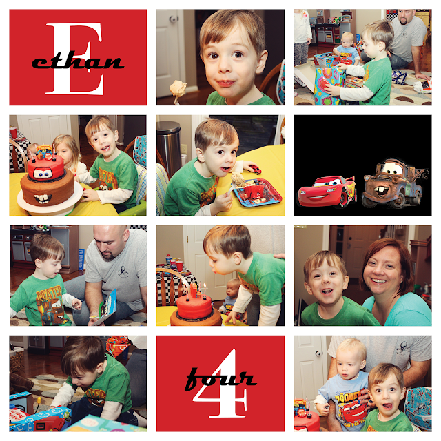 Ethan's Cars 2 Birthday Party