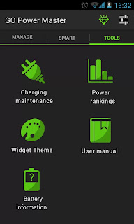 GO Battery Saver apk big icons