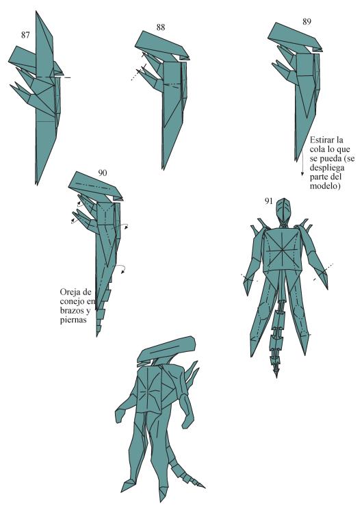 origami alien instructions tutorial origami handmade