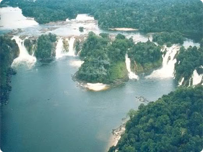 (Brazil & Paraguay) - Guaíra Falls