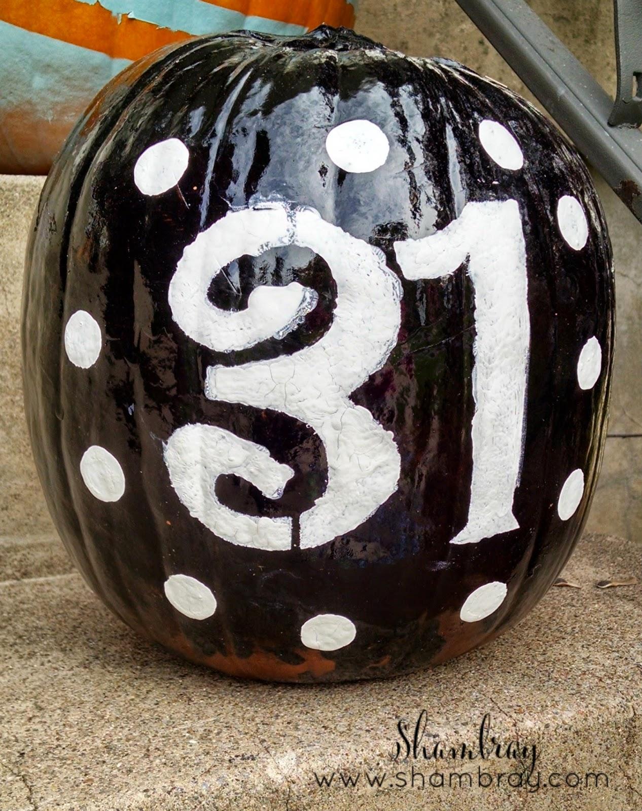 Decorating Pumpkins  | Halloween Favorites at www.andersonandgrant.com