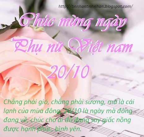 Những lời chúc 20-10 hài hước nhất mừng ngày phụ nữ Việt Nam 2015