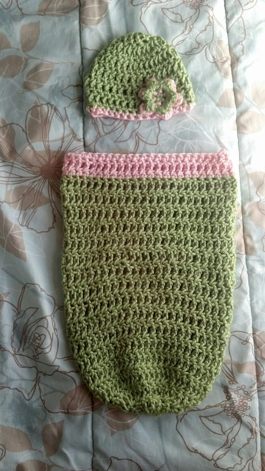 The Knitless Knitter Free Pattern Triple Crochet Newborn Cocoon