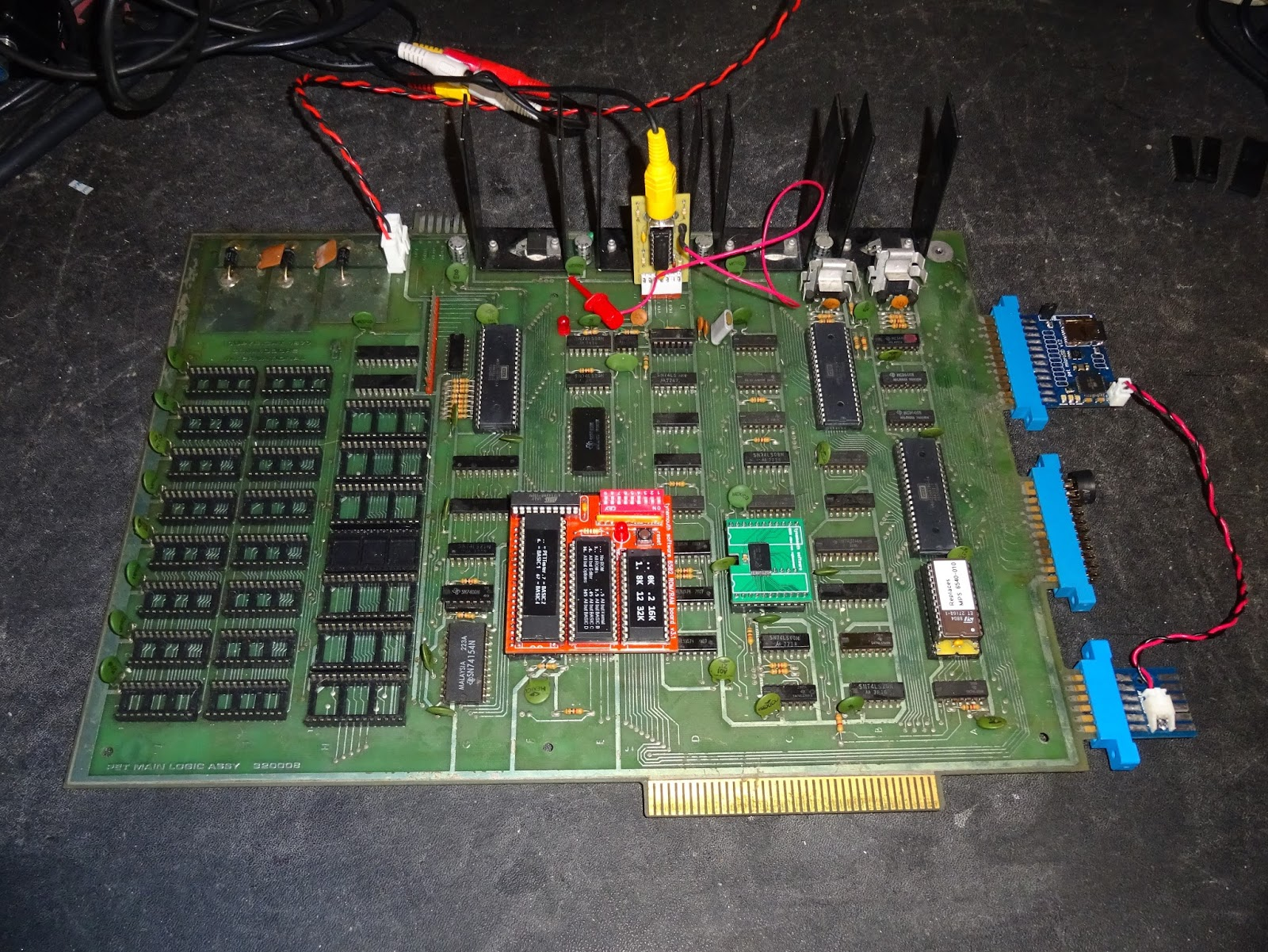 Tynemouth Software: Commodore PET 2001-8 Mainboard Repair - Part 2