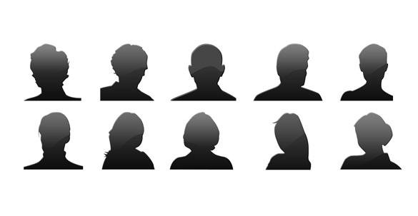 coleção de avatares