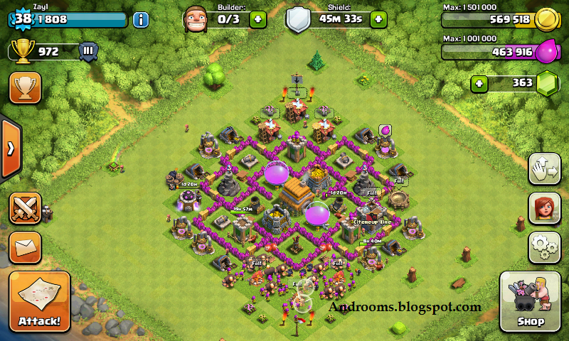 Download Game Clash Of Clans (COC) Android