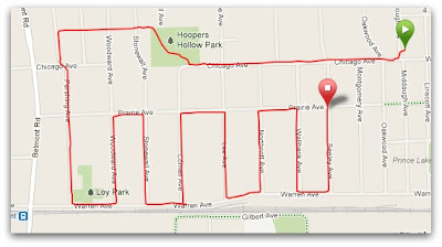 Downers Grove Hill Run