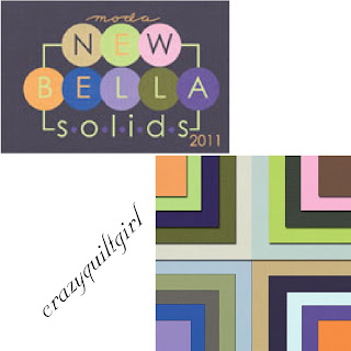 Moda BELLA SOLIDS New Colors Fabric