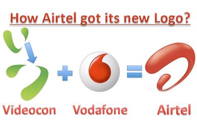 how airtel got its new logo?