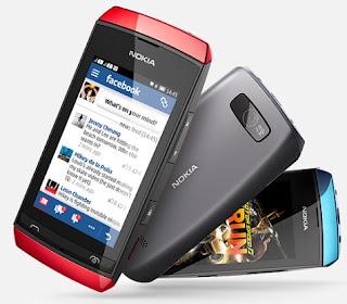 Gambar Nokia Asha 305 Full Touch Dual SIM Murah