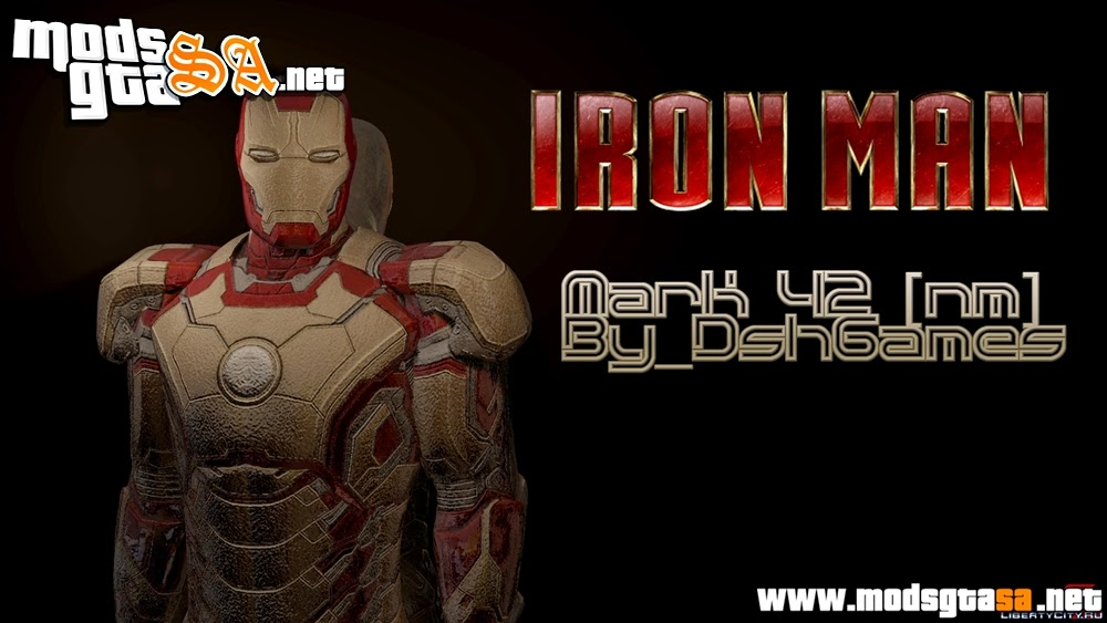 SA - Skin Homen de Ferro (Normal Map)