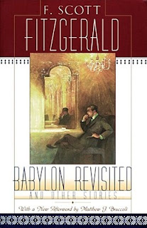 F. Scott Fitzgerald Babylon Revisited scribners book cover