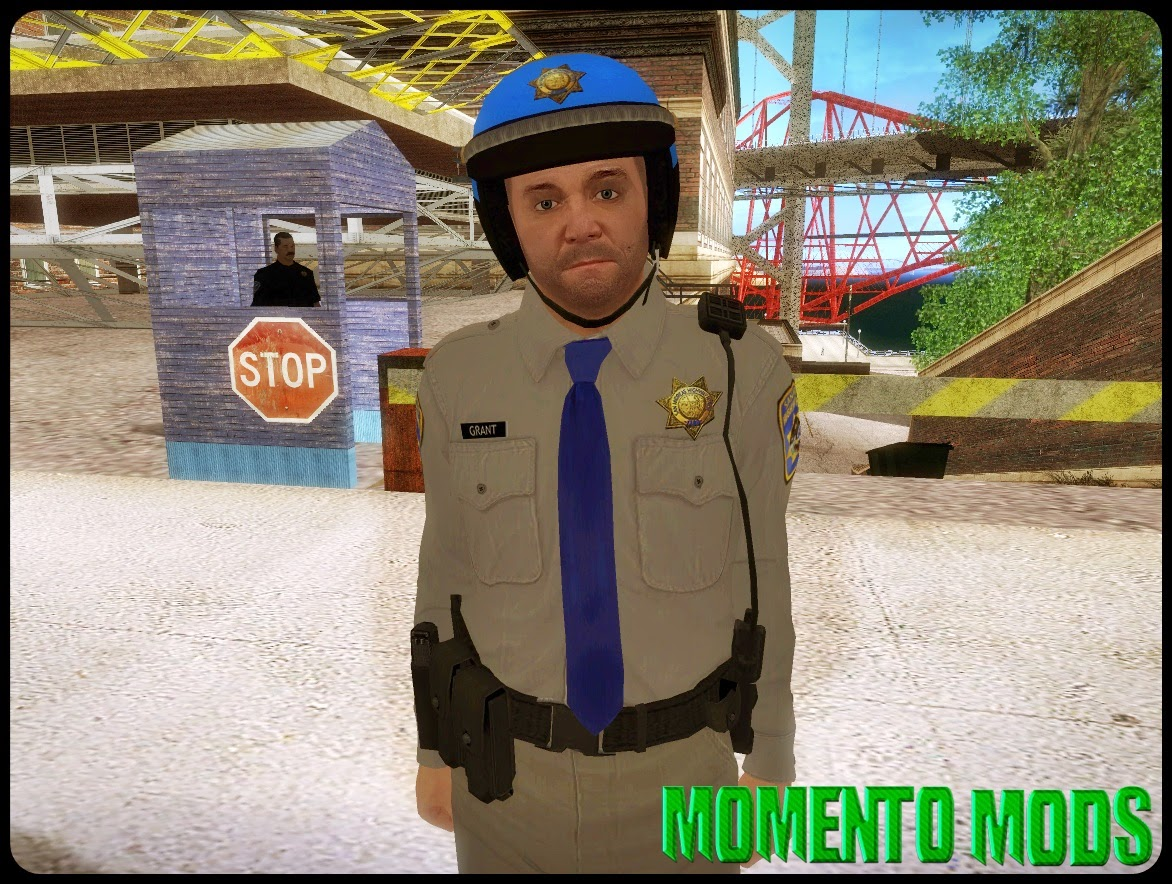 GTA SA - Skin Do Michael De Policial Do GTA V
