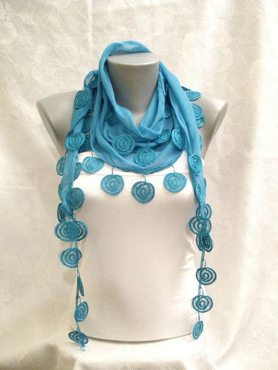 fashion beautiful scarf pattern photoshoot