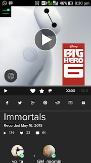 http://www.smule.com/recording/fall-out-boy-from-big-hero-6-immortals/266312463_127377004