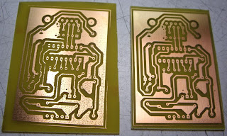 Bad and good pcb