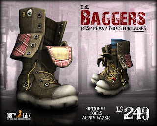 Baggers heavy boots