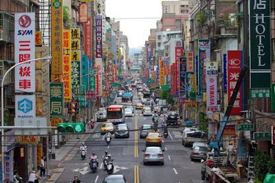 Taiwan capital Taipei, turismo