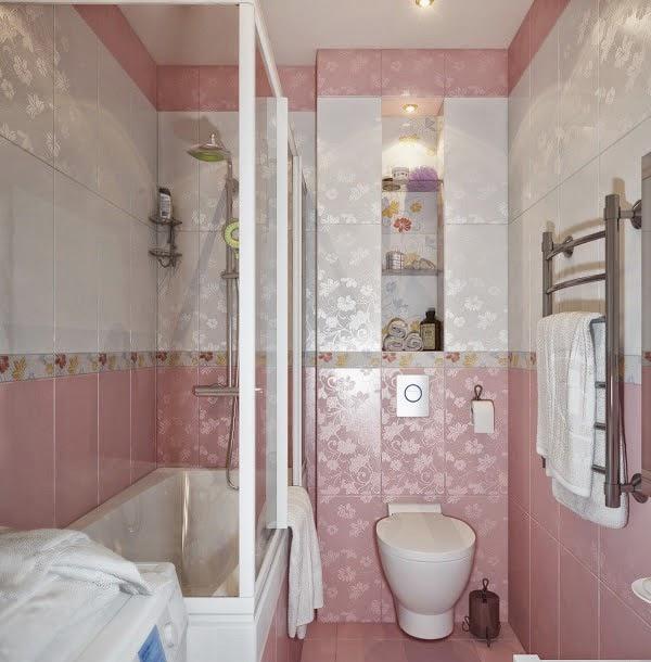 Bentuk-bentuk kamar mandi 5