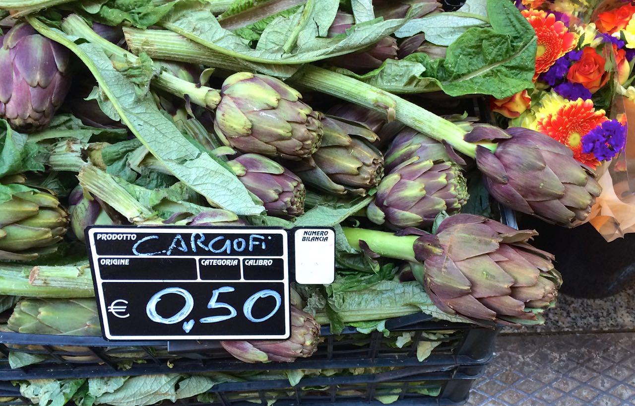 Artichokes in Rome {Eat Like a Roman}