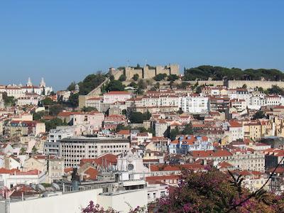 Castelo Sao Jorge, Lisbon, Portugal