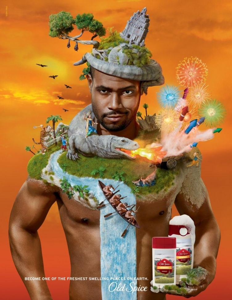 Old Spice's Ad Man of the Year Comes to Print with Fresh ...