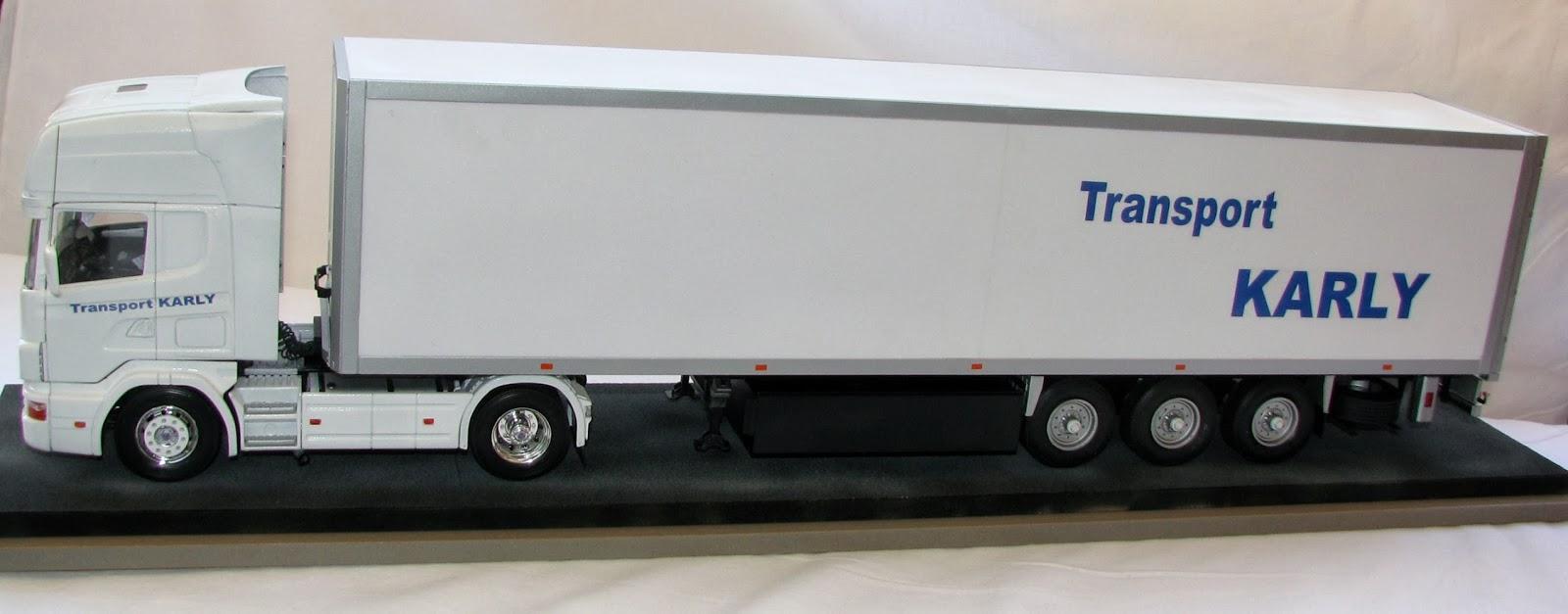 ITALERI,maquette,camion,3868,R emorque,semi,porte,grumes,1/24