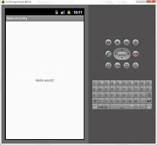 Run on the Android virtual device (Emulator)