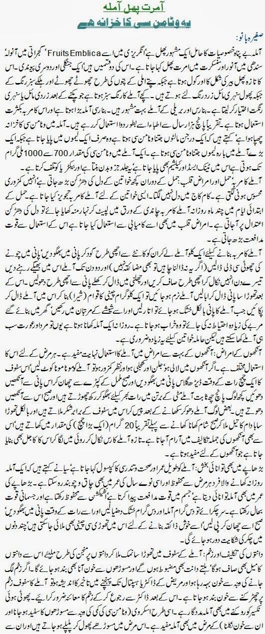 Furits Emblica(Amla Ka Phal In Urdu)