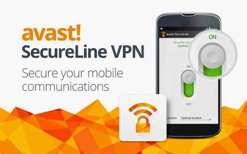 تحميل برنامج بروكسي للاندرويد SecureLine VPN من أفاست العالميه مجانا