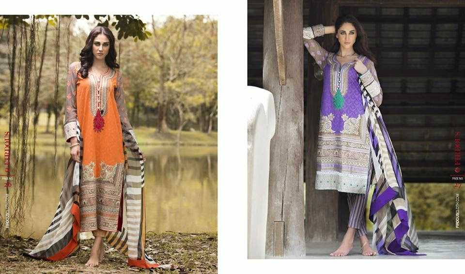 Firdous summer long dresses