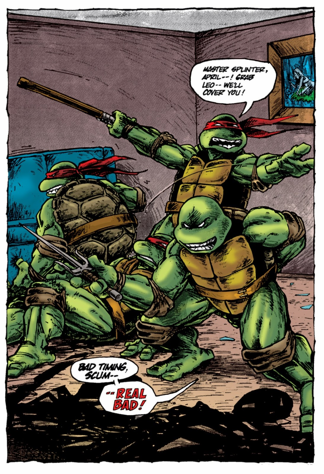 geek spot teenage mutant ninja turtles the works volume 2
