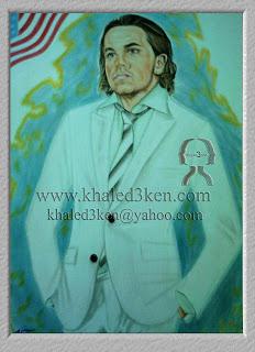 تعليم رسم البورتريه موقع عالمى لمشاهير كرة القدم للفنان خالد عبد الكريم