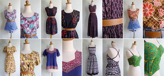 vintage tribal print dresse for sale