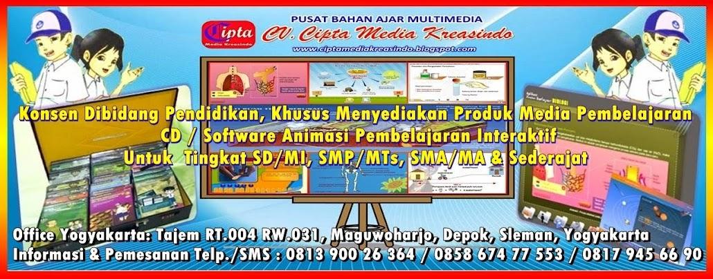 CD PEMBELAJARAN INTERAKTIF SD/MI