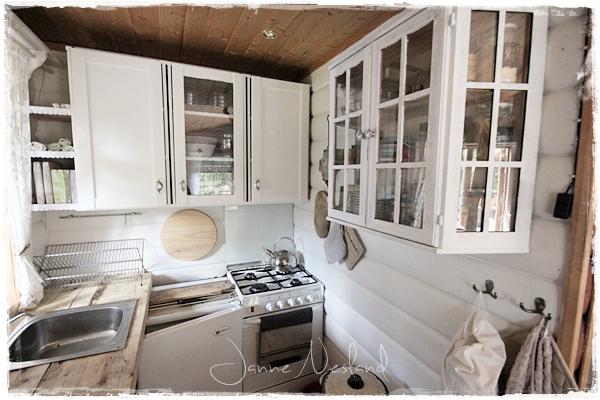 Jannes kreative verden: hyttekjøkken   før og nå med litt ideer ...