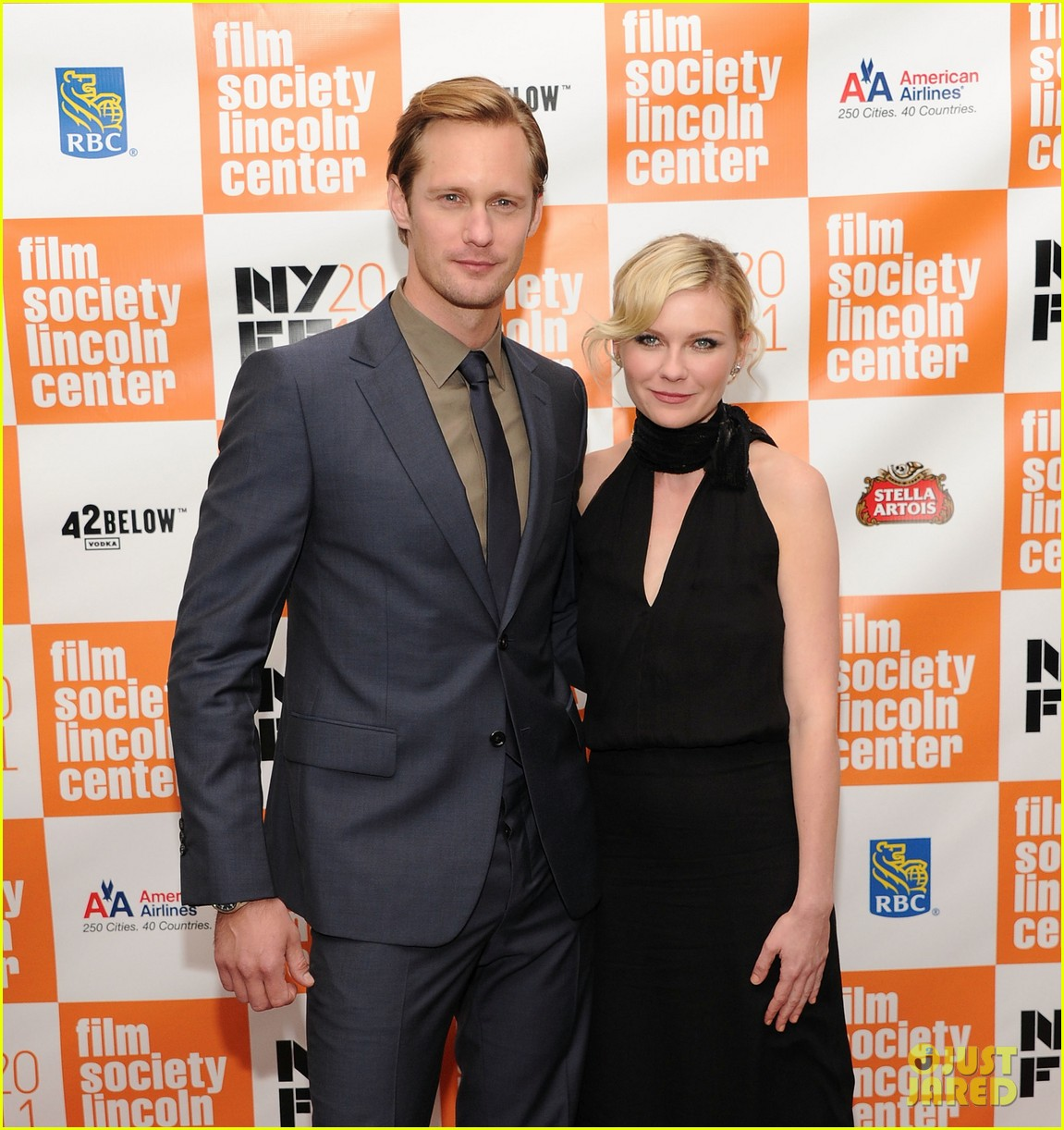 Alexander Skarsgard & Kirsten Dunst @