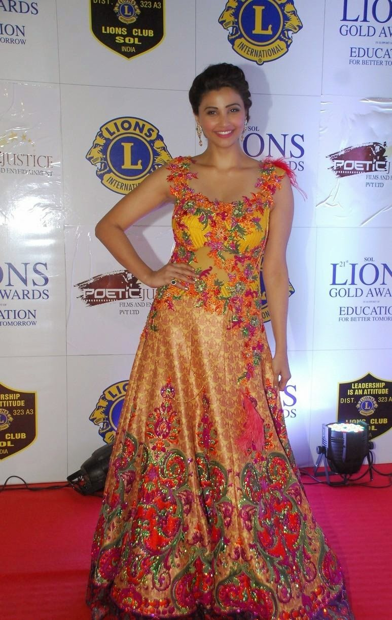 Bollywood celebs at 21st lions gold awards pics