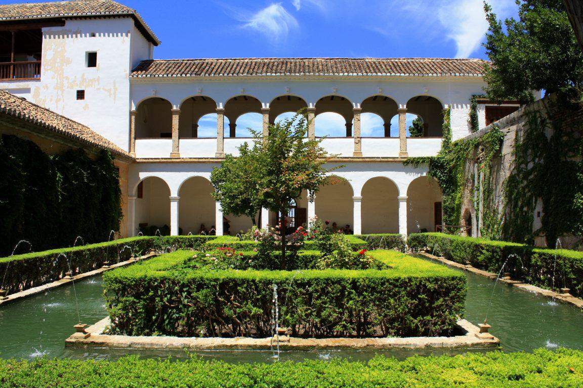 Spain alhambra de granada beautiful places of barcelona for Generalife gardens