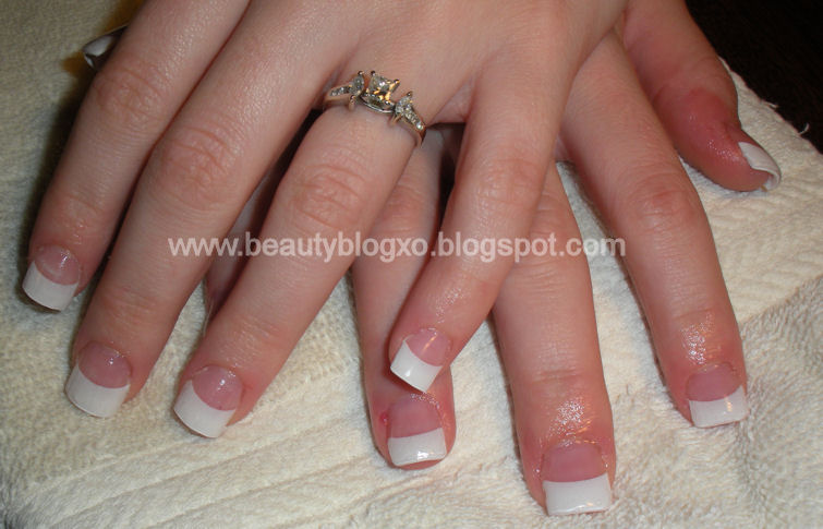 Impressive Short French Tip Acrylic Nails 755 x 485 · 67 kB · jpeg