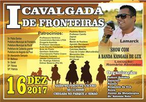 1ª CAVALGADA DE FRONTEIRAS-PI