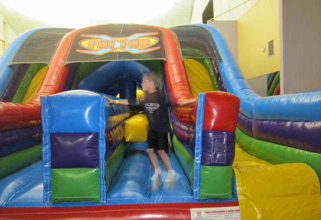 The annandale blog inflatable fun center for kids opens for Indoor birthday party places for kids