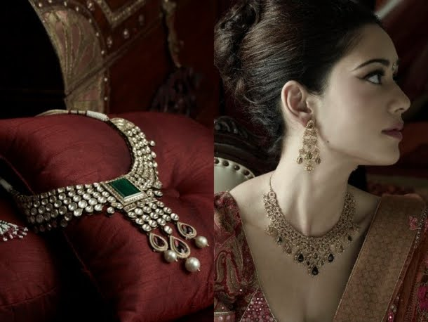 Tanishq Indian Bridal Jewelry Collection