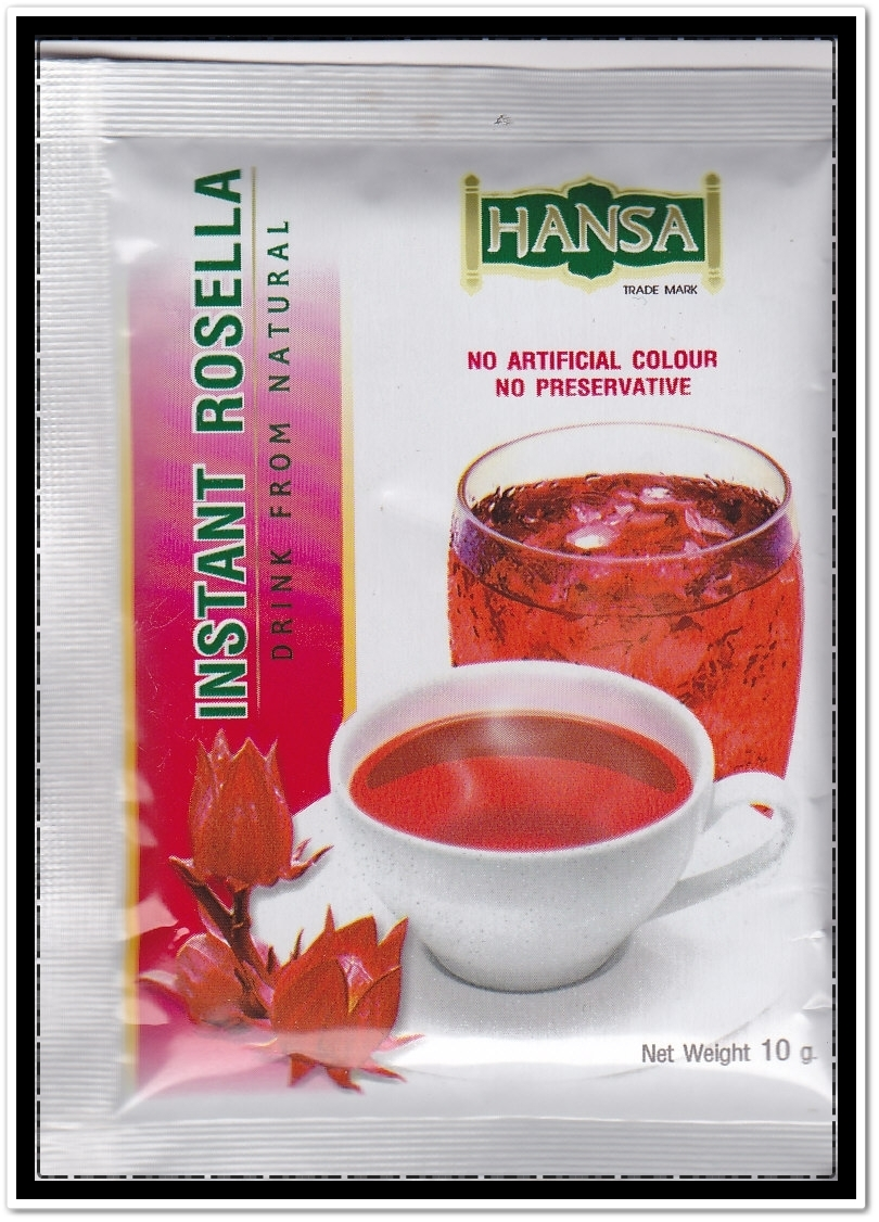Southeast asia traveler how to make hibiscus tea or roselle juice instant hibiscus powder drinks izmirmasajfo Choice Image