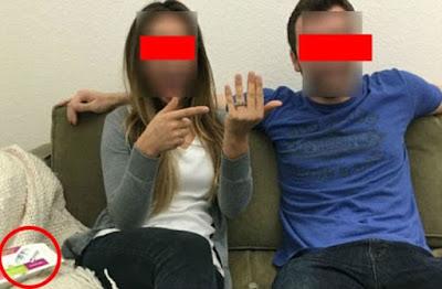 Casal decide partilhar foto a anunciar noivado, mas acabam por mostrar mais do que queriam!
