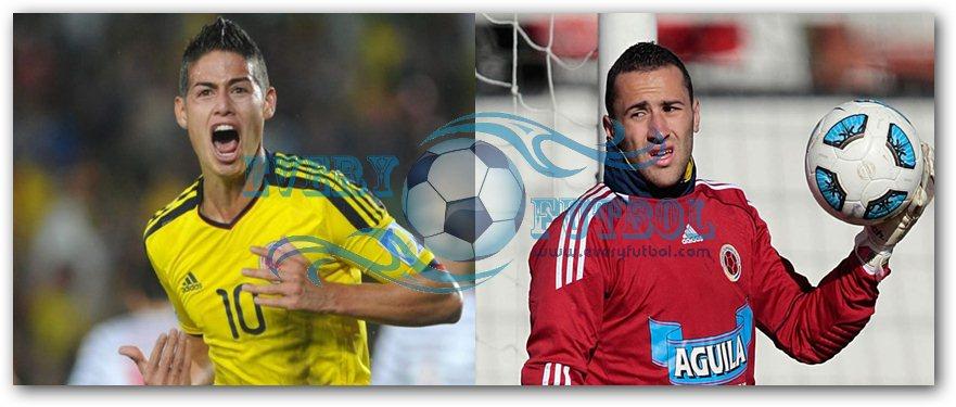 James Rodríguez y David Ospina, en los planes del PSG